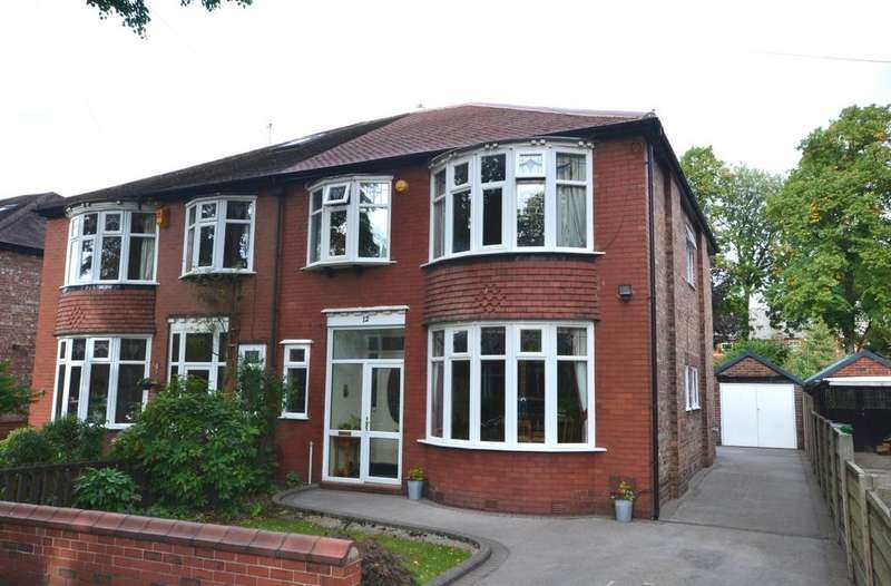 4 Bedrooms Semi Detached House for sale in Longton Avenue, West Didsbury