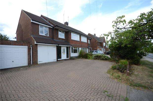 4 Bedrooms Semi Detached House for sale in Butts Hill Road, Woodley, Reading