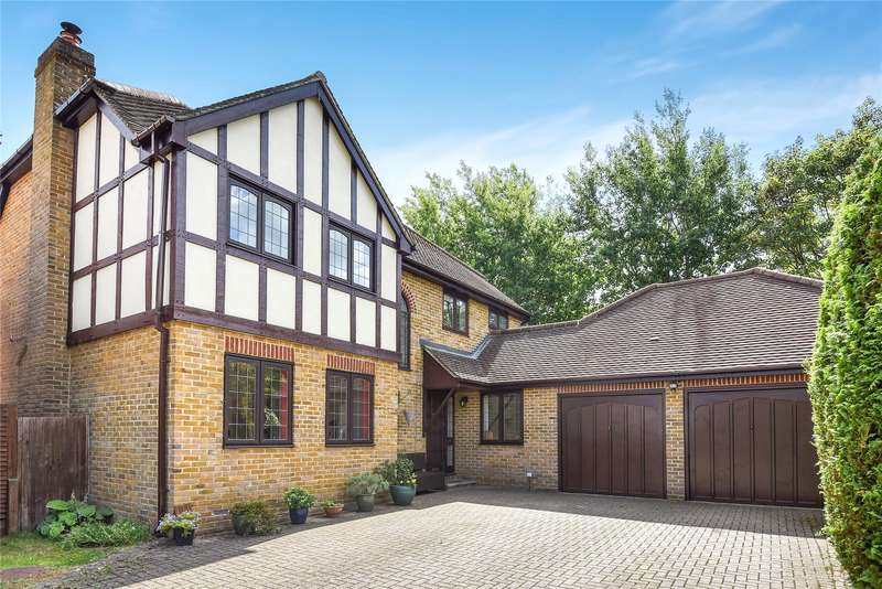 5 Bedrooms Detached House for sale in Wimbushes, Finchampstead, Wokingham, Berkshire, RG40