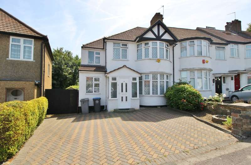 4 Bedrooms End Of Terrace House for sale in Wakemans Hill Avenue, London, London, NW9