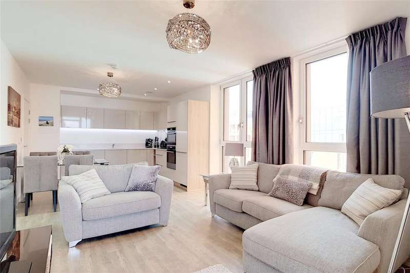 2 Bedrooms Flat for sale in Cable Walk, Greenwich, London, SE10