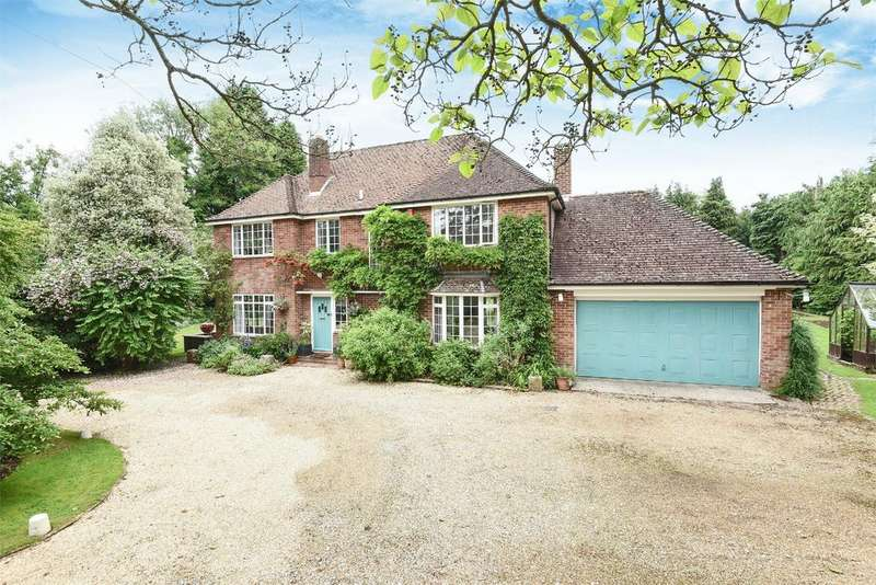 5 Bedrooms Detached House for sale in Shepherds Lane, Compton, Winchester, Hampshire, SO21