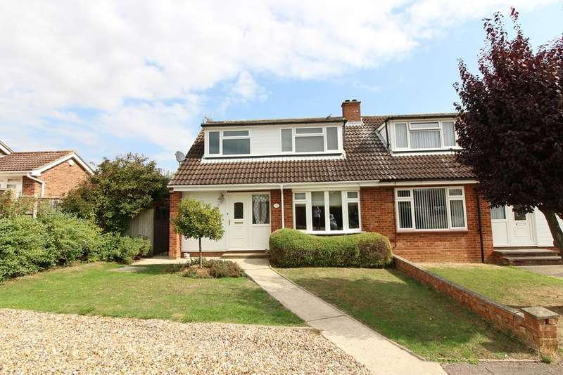 3 Bedrooms Semi Detached House for sale in Orchard Close, Meppershall, SG17