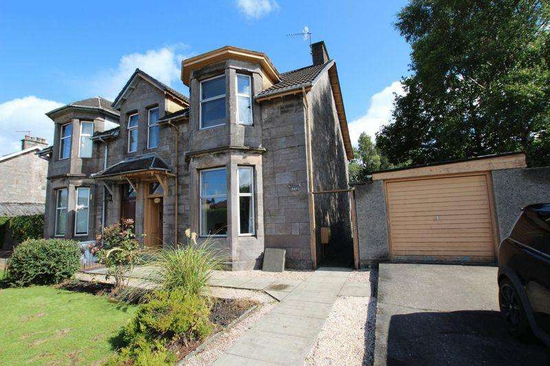 3 Bedrooms Semi Detached House for sale in Glasgow Road, Dumbarton