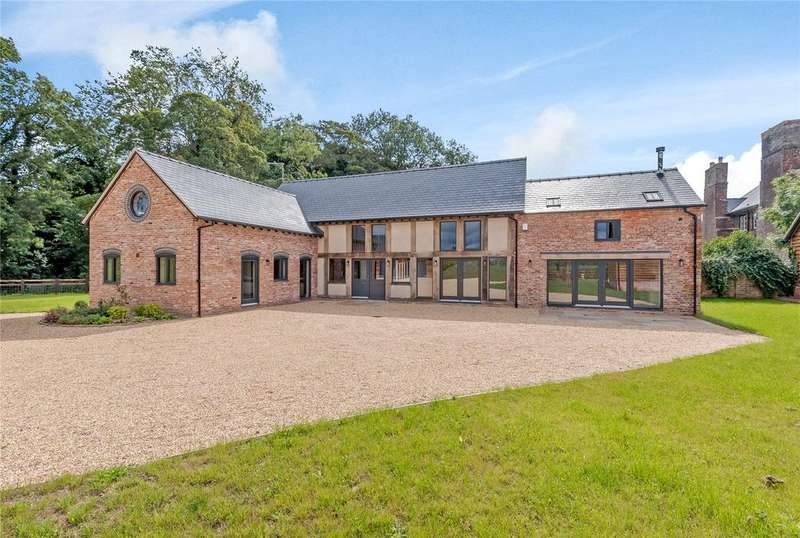 4 Bedrooms Detached House for sale in Great Fernhill Barns, Whittington, Oswestry, Shropshire