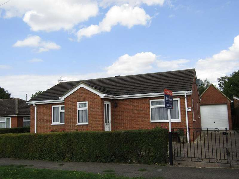2 Bedrooms Detached Bungalow for sale in Lymans Road, Arlesey, SG15 6TE