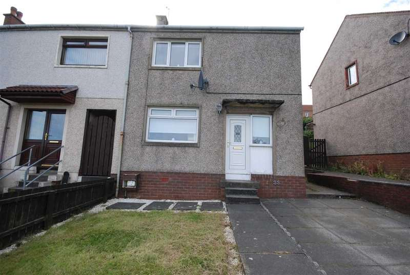 2 Bedrooms End Of Terrace House for sale in Mossgeil Road, Ardrossan
