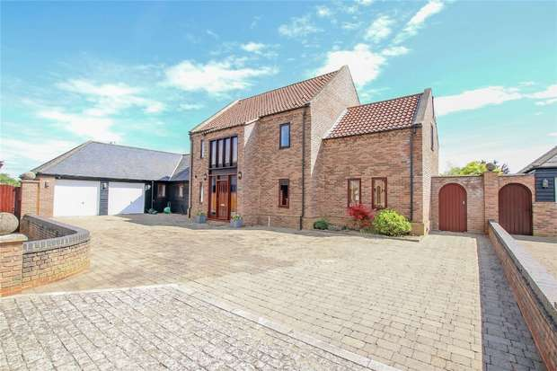 4 Bedrooms Detached House for sale in Ca-D'ORO, Clenchwarton