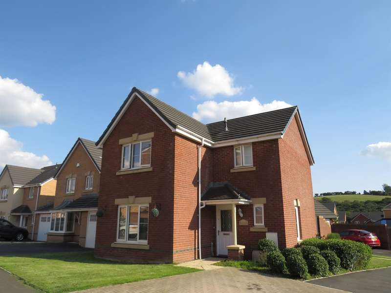 4 Bedrooms Detached House for sale in Worcester Court, Tonyrefail, Porth