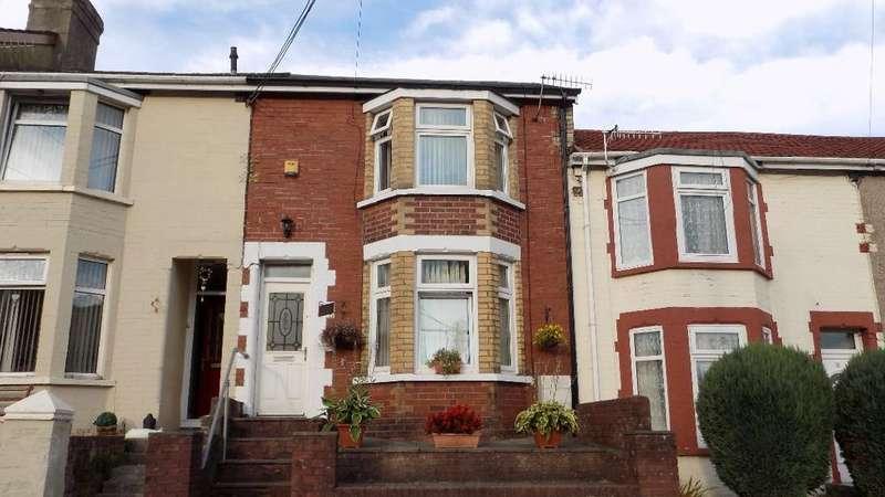 3 Bedrooms Terraced House for sale in Bryngwyn Road, Six Bells, Abertillery. NP13 2PD