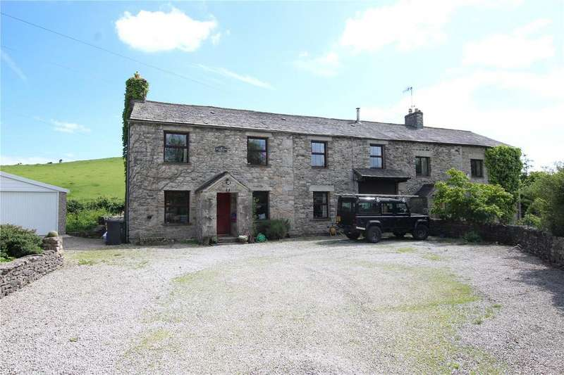 4 Bedrooms Semi Detached House for sale in Hangbridge House, Whassett, Milnthorpe, Cumbria