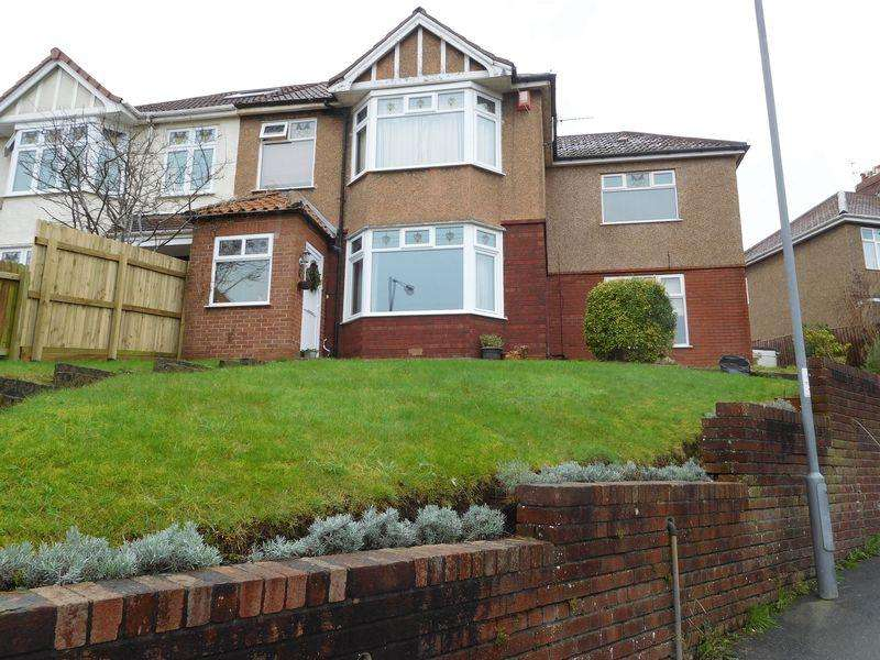 4 Bedrooms Semi Detached House for sale in Ravenhill Avenue, Knowle, Bristol