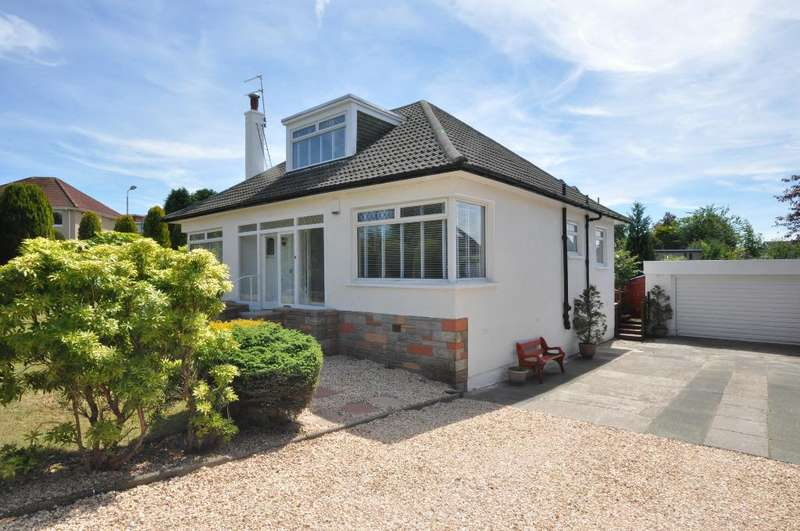 4 Bedrooms Detached Bungalow for sale in Breadie Drive, Milngavie, East Dunbartonshire, G62 6LY