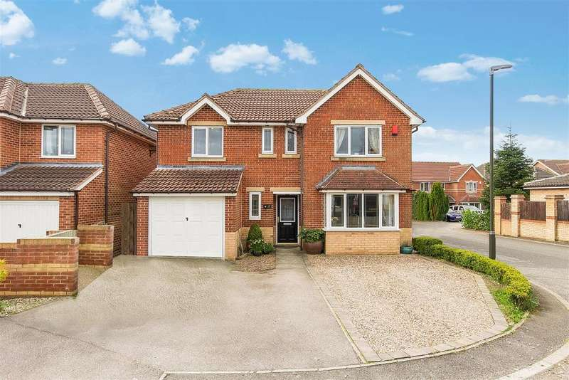 4 Bedrooms Detached House for sale in Pearson Croft, Upper Newbold, Chesterfield