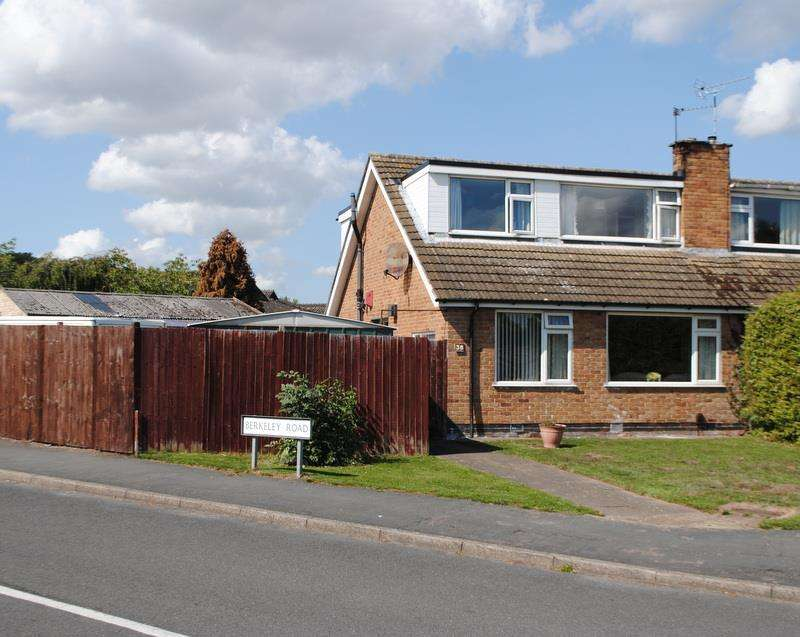 4 Bedrooms Semi Detached House for sale in Thirlmere Drive, Loughborough