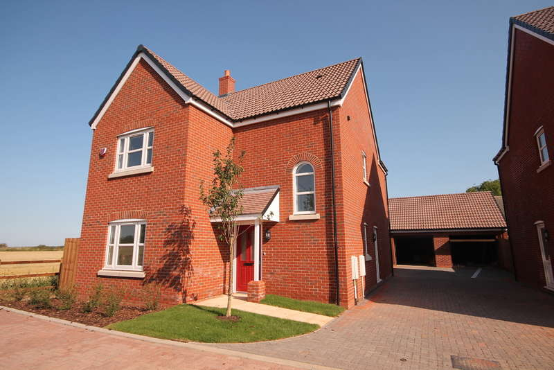 4 Bedrooms Detached House for sale in Plot 8, 'The Chancellors', Bedford Road, Moggerhanger, MK44