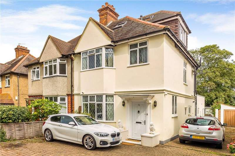 4 Bedrooms Semi Detached House for sale in Sutherland Grove, London, SW18