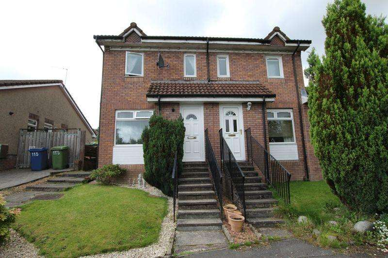 2 Bedrooms Semi Detached House for sale in Broomhill Crescent, Bonhill