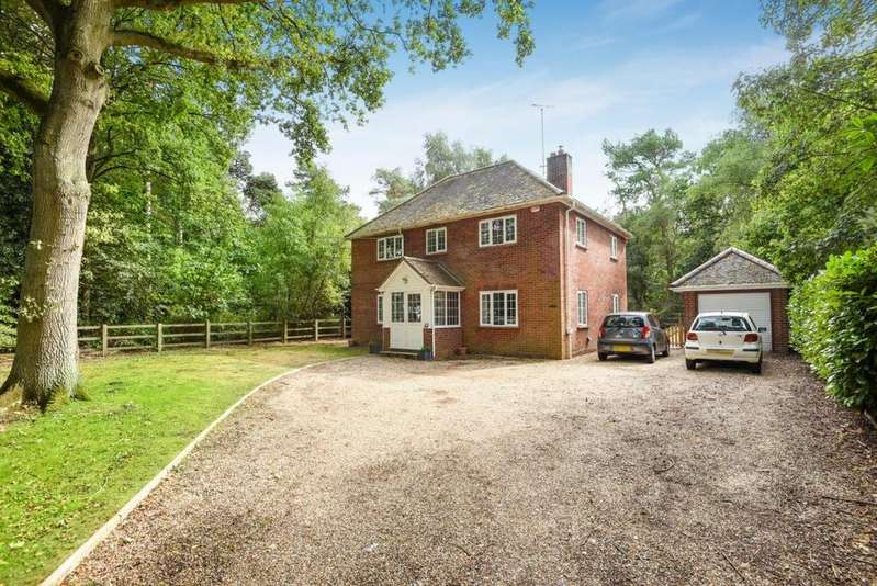 4 Bedrooms Detached House for sale in Farley Hill, Reading, RG7