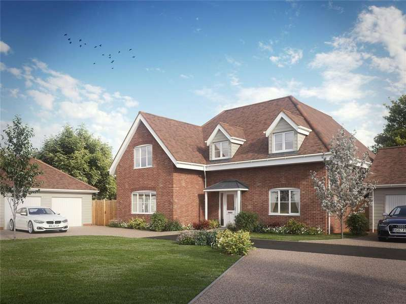 5 Bedrooms Detached House for sale in Lymington Bottom, Four Marks, Hants