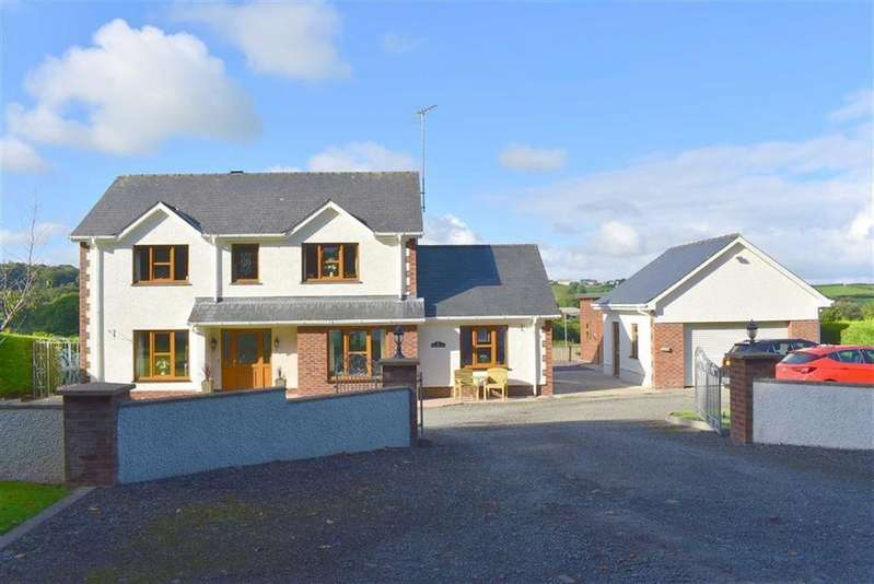 4 Bedrooms Detached House for sale in Llanarth, Ceredigion