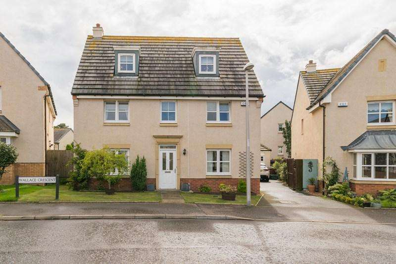 5 Bedrooms Property for sale in 84 Wallace Crescent, Wallyford, Musselburgh, East Lothian, EH21 8DD