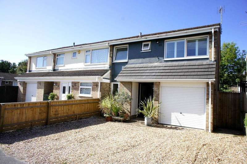 3 Bedrooms Semi Detached House for sale in Quantock Avenue, Caversham Park Village