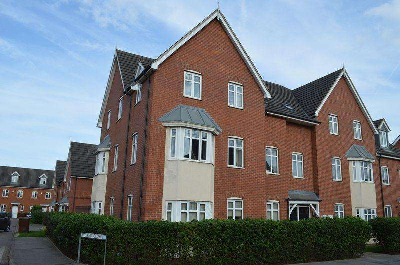 2 Bedrooms Flat for sale in Blackfriars Road, Lincoln