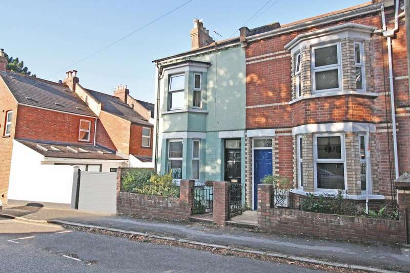 3 Bedrooms End Of Terrace House for sale in Church Terrace, Exeter