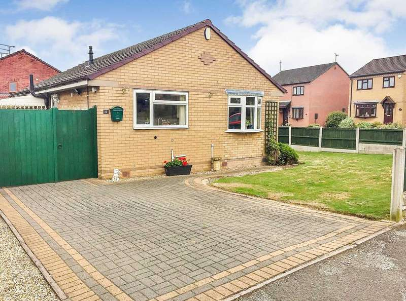 2 Bedrooms Bungalow for sale in Elvaston Road, North Wingfield, Derbyshire, S42 5HH