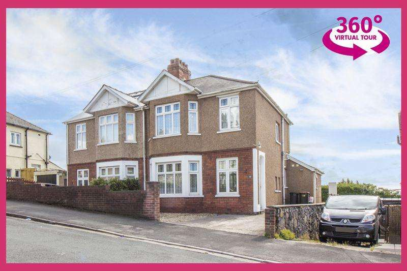 3 Bedrooms Semi Detached House for sale in Penylan Road, Newport - REF #00003703 - View 360 Tour At http://bit.ly/2N0kKrV