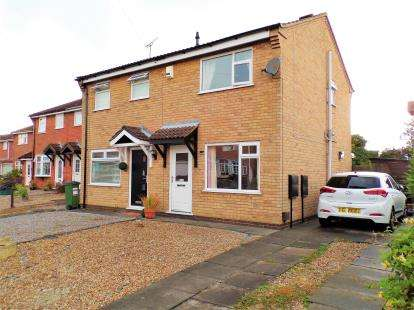 2 Bedrooms Semi Detached House for sale in Spinney Halt, Whetstone, Leicester