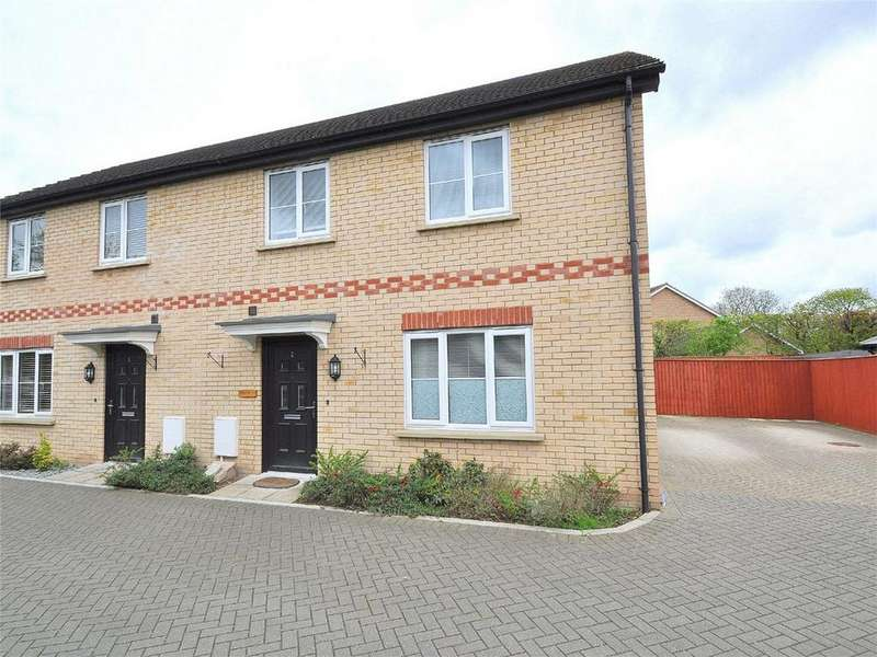3 Bedrooms Semi Detached House for sale in Lawrence Close, Sapley, Huntingdon, Cambridgeshire