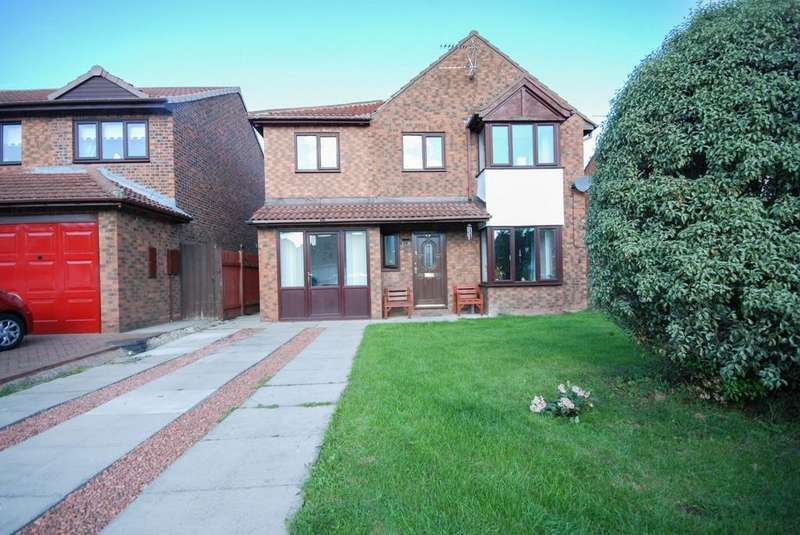 4 Bedrooms Detached House for sale in Leander Drive, Boldon Colliery