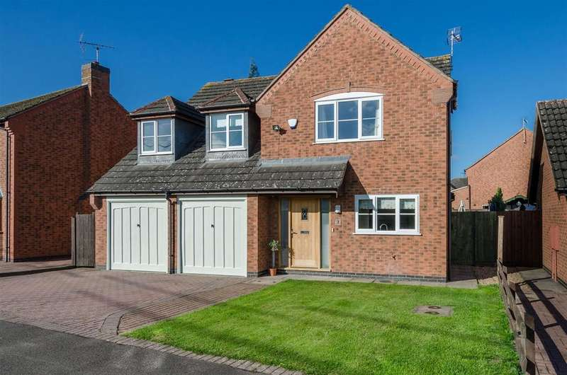 5 Bedrooms Detached House for sale in Mays Farm Drive, Stoney Stanton, Leicester