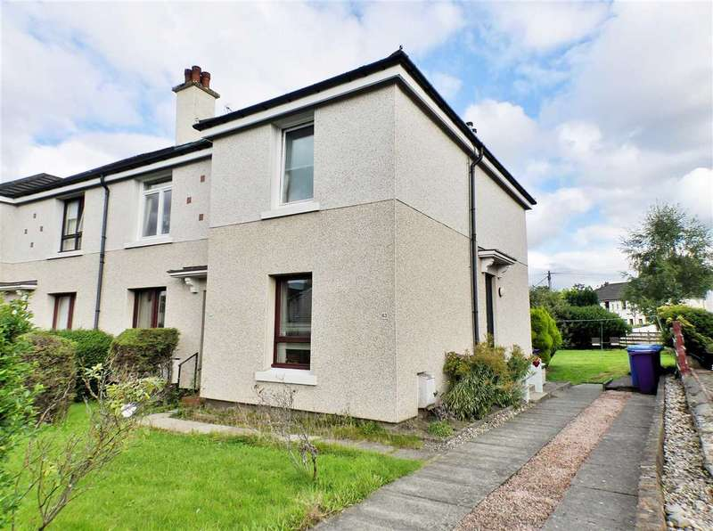 2 Bedrooms Apartment Flat for sale in Moidart Road, Craigton, GLASGOW