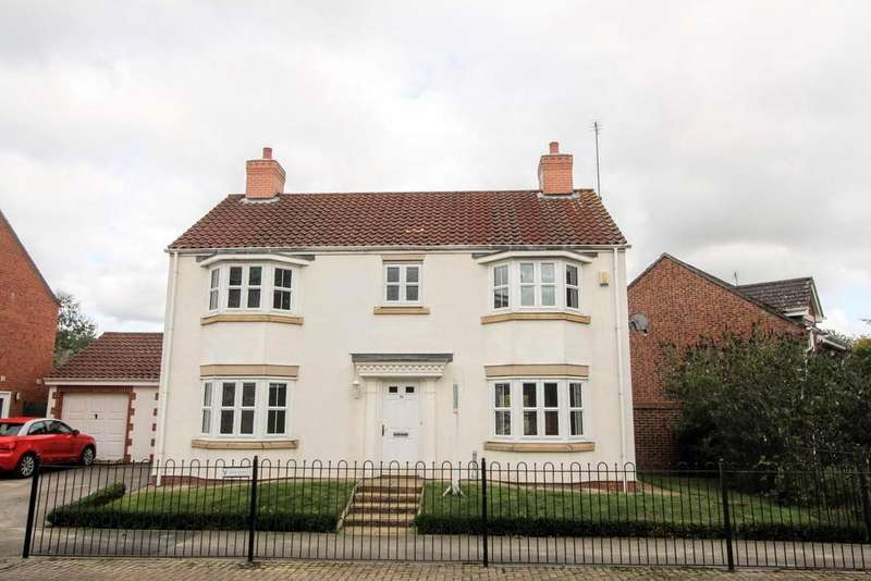 4 Bedrooms Detached House for sale in Bouch Way, Barnard Castle