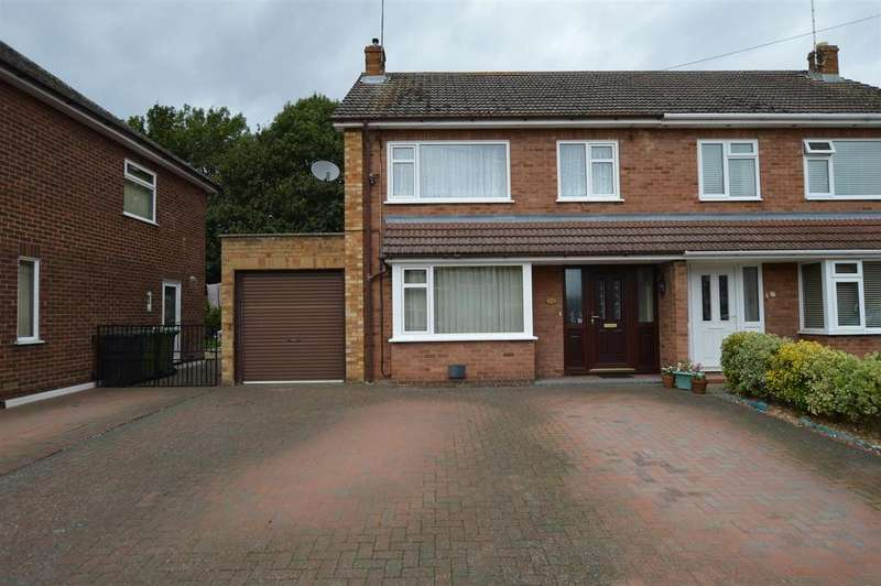 3 Bedrooms Semi Detached House for sale in Coventry Close, Werrington, Peterborough