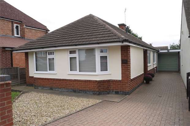 3 Bedrooms Detached Bungalow for sale in Knoll Street, Market Harborough, Leicestershire