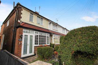 3 Bedrooms End Of Terrace House for sale in Applecroft Road, Luton, Bedfordshire
