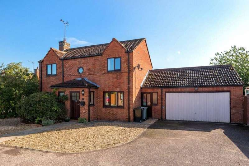 5 Bedrooms Detached House for sale in Saxon Way, Bourne, PE10