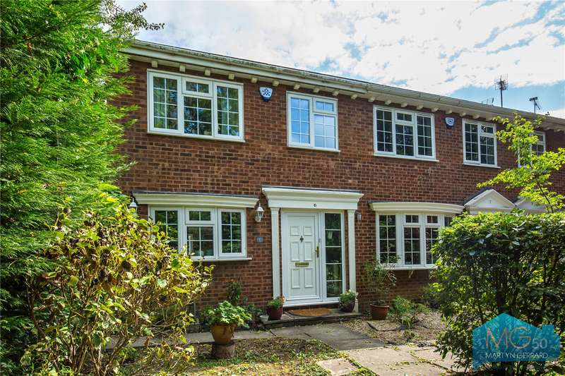 3 Bedrooms End Of Terrace House for sale in Little Cedars, Woodside Park, London, N12