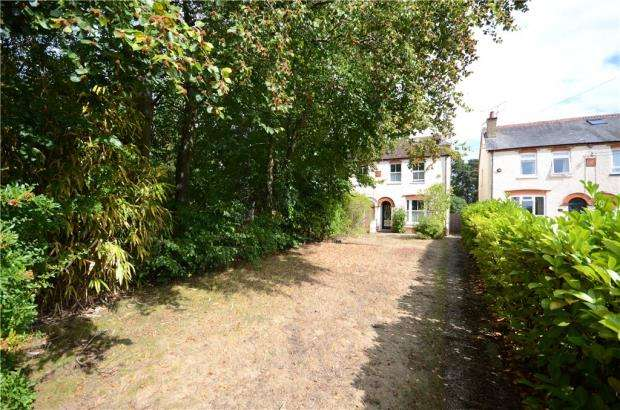 2 Bedrooms Semi Detached House for sale in College Road, College Town, Sandhurst
