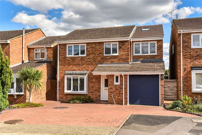 5 Bedrooms Detached House for sale in Globe Farm Lane, Blackwater, Camberley, GU17