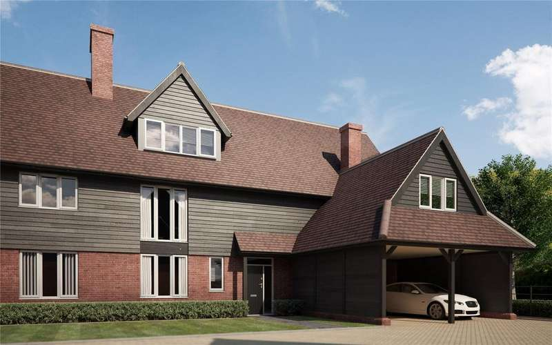5 Bedrooms Semi Detached House for sale in Malthouse Lane, Meath Green, Horley, Surrey, RH6