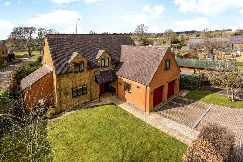 5 Bedrooms Detached House for sale in Warwick Road, Upper Boddington, Daventry, Northamptonshire, NN11