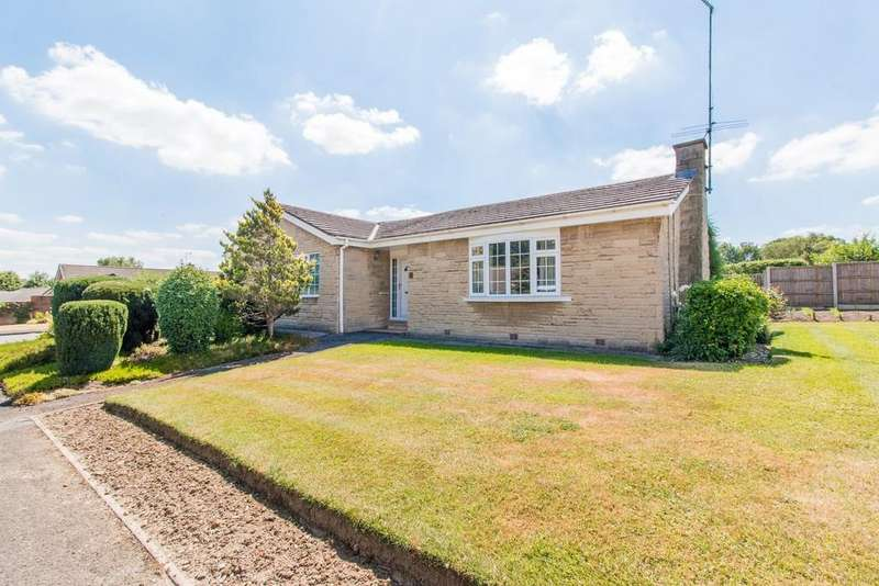 3 Bedrooms Detached Bungalow for sale in Milldale Close, Holme Hall, Chesterfield