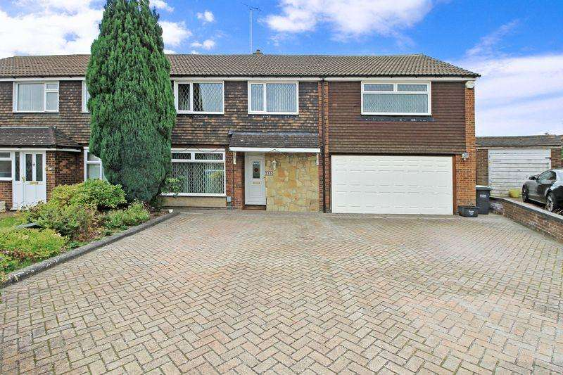 5 Bedrooms Semi Detached House for sale in Stanmore Crescent, Luton