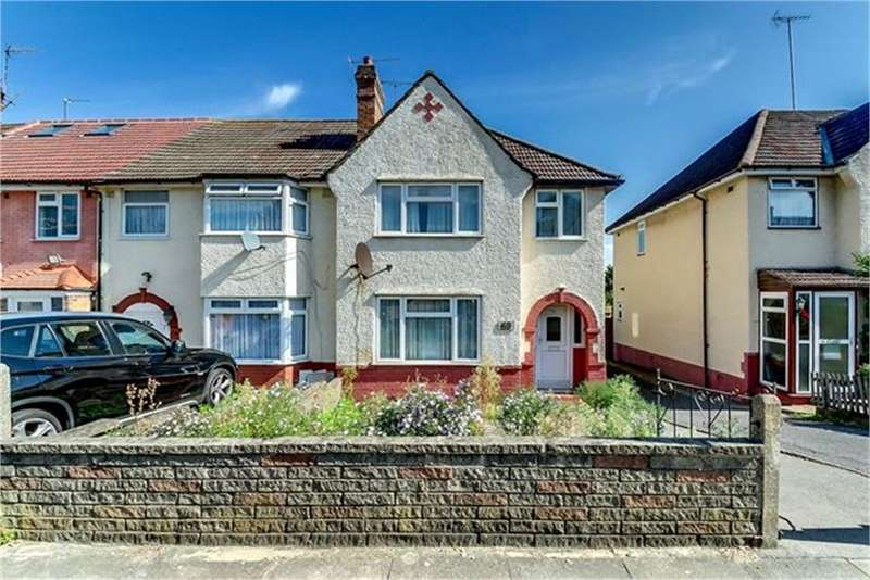 3 Bedrooms End Of Terrace House for sale in Coles Green Road, London