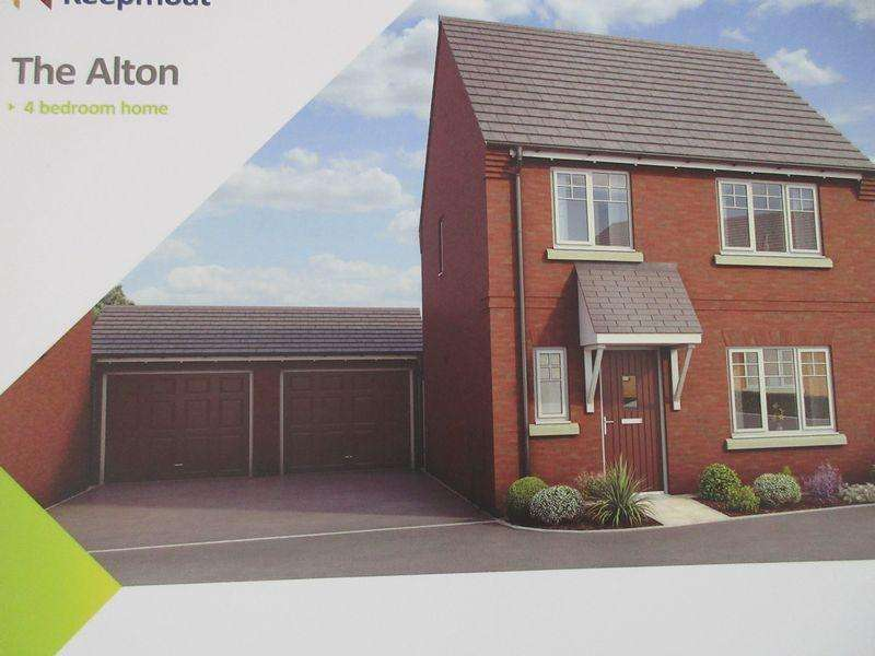 4 Bedrooms Detached House for sale in Plot 61, The Alton, Cave Crescent , Coalville